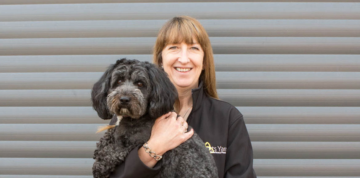 Knotts Yard Veterinary Practice - Kathryn and her dog Toby